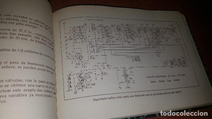 Radios antiguas: diccionario de radio + otros cuadernillos, superheterodino, esquemas, etc. En un tomo, inst. Radio - Foto 12 - 173976058