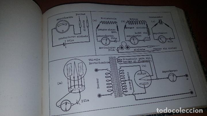 Radios antiguas: diccionario de radio + otros cuadernillos, superheterodino, esquemas, etc. En un tomo, inst. Radio - Foto 13 - 173976058