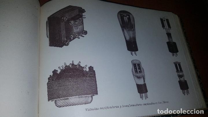 Radios antiguas: diccionario de radio + otros cuadernillos, superheterodino, esquemas, etc. En un tomo, inst. Radio - Foto 14 - 173976058