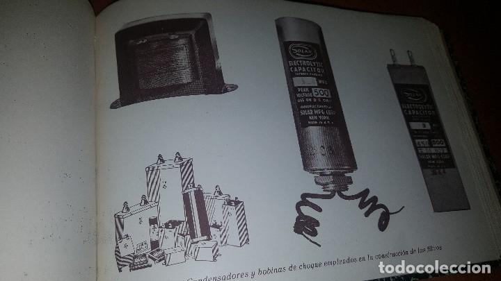 Radios antiguas: diccionario de radio + otros cuadernillos, superheterodino, esquemas, etc. En un tomo, inst. Radio - Foto 15 - 173976058