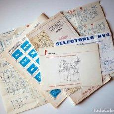 Radios antiguas: ESQUEMAS DE MONTAJE TV. Lote 174251262