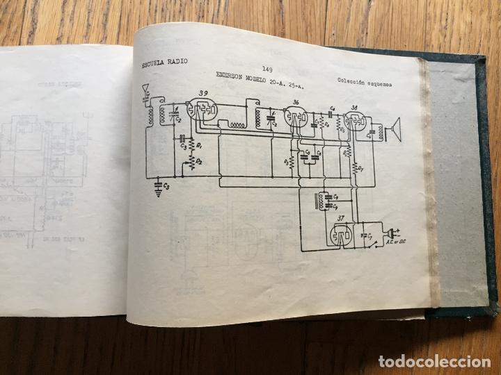 Radios antiguas: ESCUELA DE RADIO, F.MAYMO TOMO FORMULARIOS Y ESQUEMAS - Foto 4 - 174962388