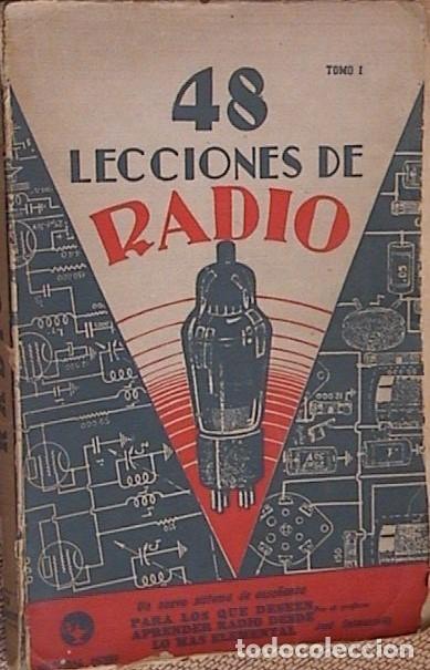 Radios antiguas: 48 lecciones de radio. Tomos I, II y III. J.Susmansky. - Foto 2 - 175479089