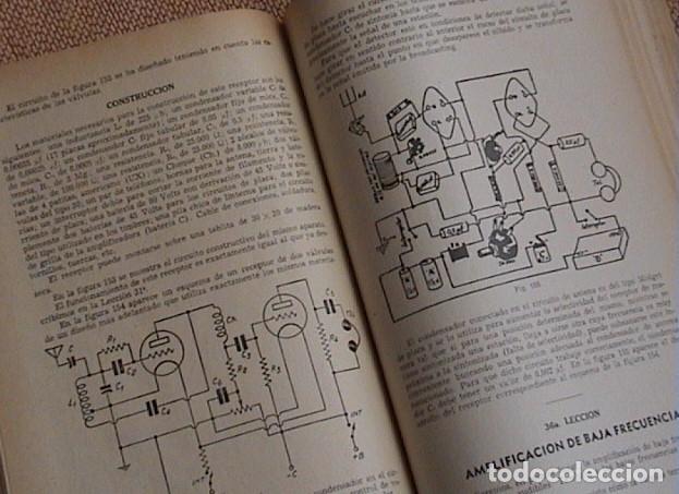 Radios antiguas: 48 lecciones de radio. Tomos I, II y III. J.Susmansky. - Foto 4 - 175479089