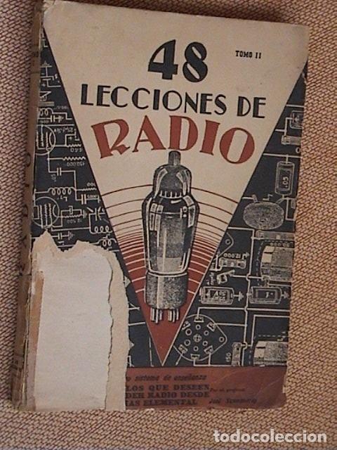 Radios antiguas: 48 lecciones de radio. Tomos I, II y III. J.Susmansky. - Foto 7 - 175479089