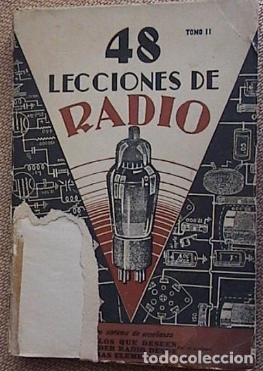 Radios antiguas: 48 lecciones de radio. Tomos I, II y III. J.Susmansky. - Foto 11 - 175479089