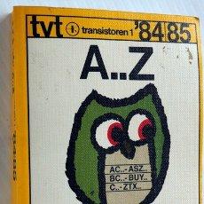 Radios antiguas: TRANSISTOREN 1. 84 / 85. TABLA COMPARATIVA ECA. Lote 175938573