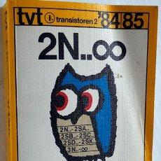 Radios antiguas: TRANSISTOREN 2. 84 / 85. TABLA COMPARATIVA ECA. Lote 175938658