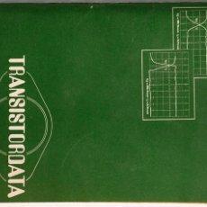Radios antiguas: TRANSISTORDATA. Lote 175938952