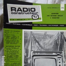 Radios antiguas: RADIO CONSTRUCTEUR 1967. Lote 175947068
