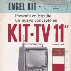 Radios antiguas: ENGEL KIT - TV-11 MODELO 111 - TRANSISTORIZADO - CARACTERISTICAS. Lote 176194297