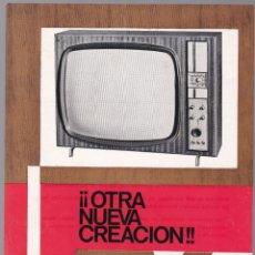 Radios antiguas: TELEVISOR MODELO 68 - CARACTERISTICAS. Lote 176198585