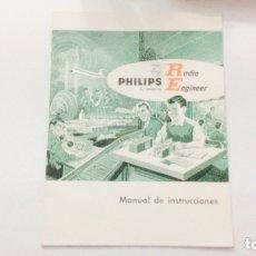 Radios antiguas: ALL TRANSISTOR. RADIO ENGINEER. PHILIPS. MANUAL DE INSTRUCCIONES. PDF. Lote 176748372