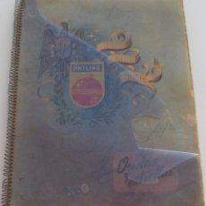 Radios antiguas: CATALOGO PUBLICITARIO CAMPAÑAS PHILIPS 1951 ONDAS Y ESTRELLAS - ABUNDANTE PUBLICIDAD DE ESTA EMPRESA. Lote 177491667