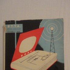 Radios antiguas: LEONARD LANE.CURSO COMPLETO RADIO TELEVISION Y RADAR.TOMO III.MODULACION FRECUENCIA.PARANINFO 1964. Lote 177516072