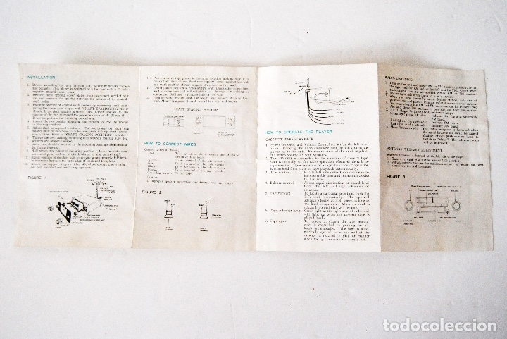 Radios antiguas: INSTRUCCIONES FULTON MODEL FC-7777 RADIO AND CASSETTE - Foto 3 - 177835429