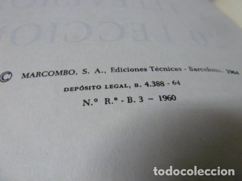 Radios antiguas: SINCRONISMOS Y BARRIDOS POR GRAFISMOS TELEVISION - Foto 3 - 178152478