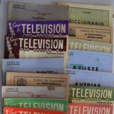 Radios antiguas: CURSO DE TELEVISIÓN POR CORREO DE FERNANDO MAYMO - 21 CUADERNILLO VARIADO. Lote 178817016