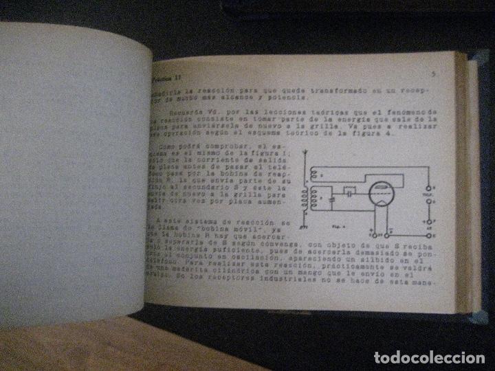 Radios antiguas: curso de radio, escuela de radio maymo, TEORIA I Y II PRACTICA I ( 3 VOLS) - Foto 10 - 178829237