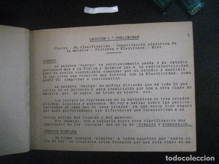 Radios antiguas: curso de radio, escuela de radio maymo, TEORIA I Y II PRACTICA I ( 3 VOLS) - Foto 21 - 178829237