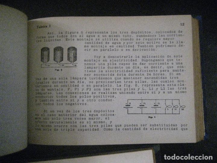 Radios antiguas: curso de radio, escuela de radio maymo, TEORIA I Y II PRACTICA I ( 3 VOLS) - Foto 29 - 178829237