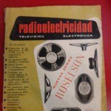 Radios antiguas: 289 RADIOELETEICIDAD 1963. Lote 179385318