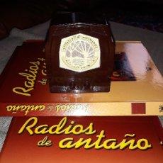 Radios antiguas: RADIO DE LA COLECCIÓN RADIOS DE ANTAÑO CON EL SU FASCICULO Nº42,FIDO-1938. Lote 180083390