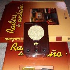 Radios antiguas: RADIO DE LA COLECCIÓN RADIOS DE ANTAÑO CON EL SU FASCICULO Nº 25, ROLAND BRANDT-1935. Lote 180084538