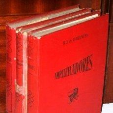 Radios antiguas: LIBRO DEL REPARADOR / 122 INSTRUMENTOS DE MEDICIÓN / AMPLIFICADORES POR R. J. DE DARKNESS, 1946-1947. Lote 180098410
