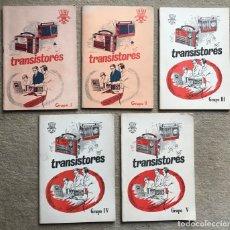 Radios antiguas: CURSO DE TRANSISTORES - RADIO (GRUPO I, II, III, IV Y V) - IET (INSTITUCIÓN ENSEÑANZAS TÉCNICAS) . Lote 180117262