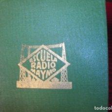 Radios antiguas: MUY INTERESANTE CARNET, ESCUELA RADIO MAYMO,AÑO 1959. Lote 180117631
