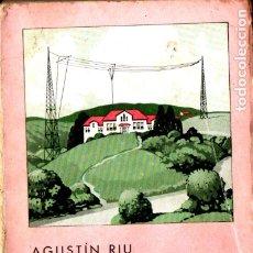 Radios antiguas: AGUSTÍN RIU : RADIO CIENCIA (CATALONIA, 1932). Lote 181394303