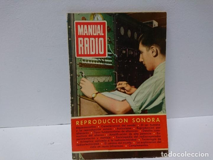154-MANUAL RADIO. REPRODUCCIÓN SONORA (Radios, Gramófonos, Grabadoras y Otros - Catálogos, Publicidad y Libros de Radio)