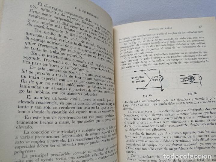 Radios antiguas: 154-Manual radio. Reproducción sonora - Foto 4 - 181426547