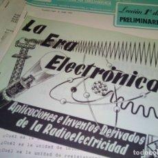 Radios antiguas: CURSO POR CORRESPONDENCIA RADIO MAYMO. Lote 181502905