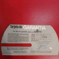 Radios antiguas: 1968 GARANTIA COSMO SONIDO TOCADISCOS. Lote 184088366