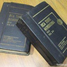 Rádios antigos: ANTIGUOS LIBROS ESQUEMAS, DIAGRAMAS RCA TUBE HANDBOOK HB3 VOL. 1-2 / 3-4, AÑOS 50, RADIO, VÁLVULAS??. Lote 76682195