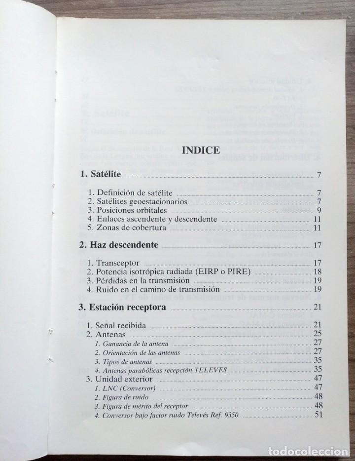 Radios antiguas: electronica, libro manual tecnico tv, television satelite - televes - Foto 4 - 184871397