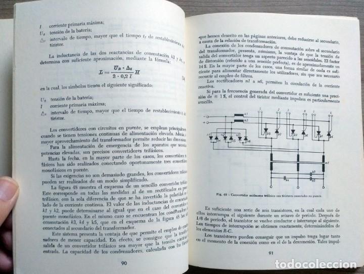 Radios antiguas: electronica, libro el tiristor, reder, rudolf swoboda - Foto 2 - 185707655
