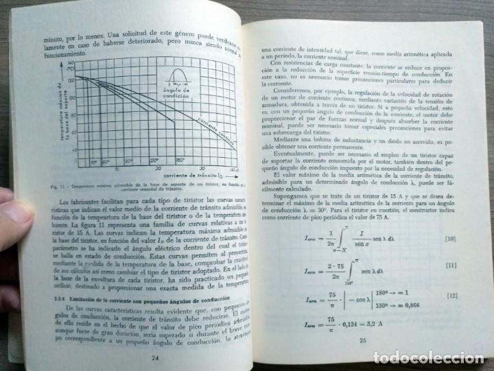 Radios antiguas: electronica, libro el tiristor, reder, rudolf swoboda - Foto 4 - 185707655
