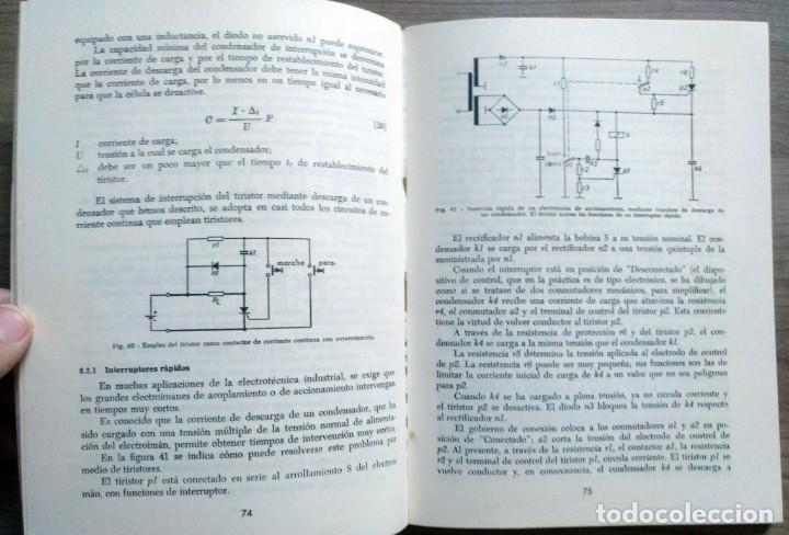 Radios antiguas: electronica, libro el tiristor, reder, rudolf swoboda - Foto 5 - 185707655