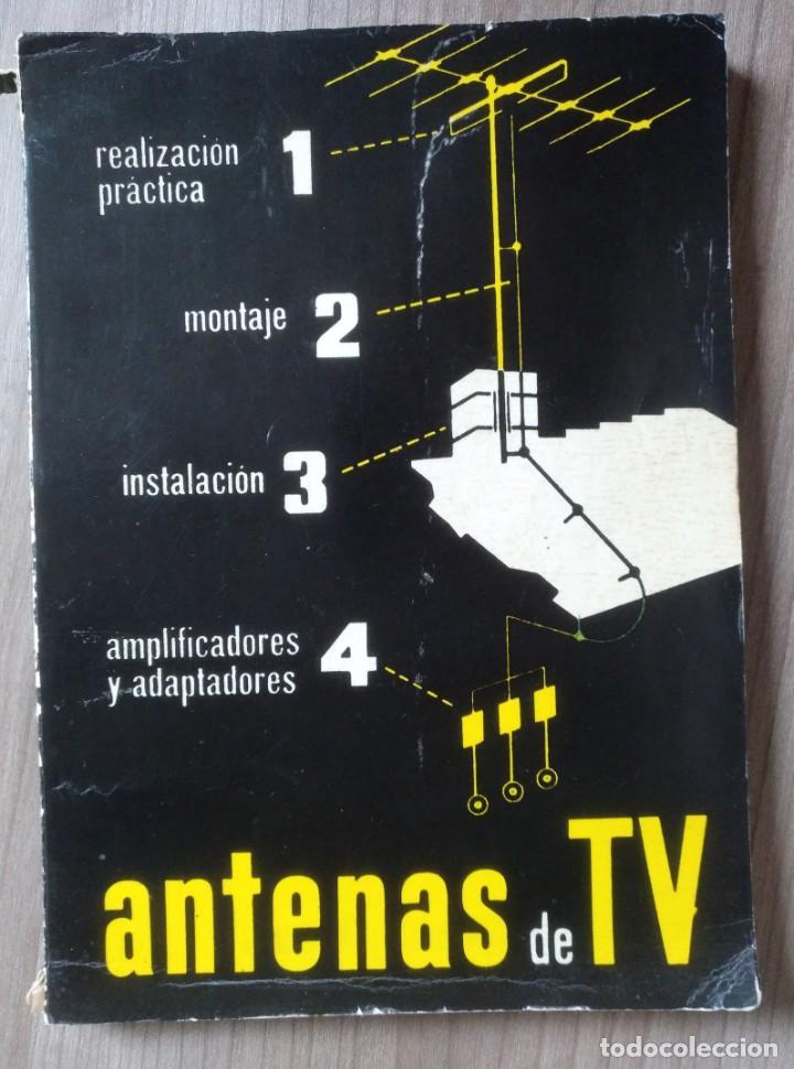 ELECTRONCA, ANTENAS DE TV - EDICIONES REDE (Radios, Gramófonos, Grabadoras y Otros - Catálogos, Publicidad y Libros de Radio)