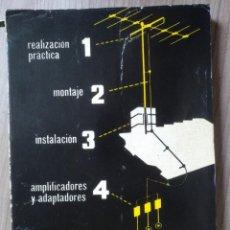 Radios antiguas: ELECTRONCA, ANTENAS DE TV - EDICIONES REDE. Lote 185708581