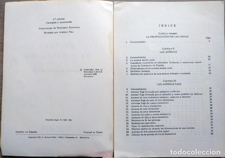 Radios antiguas: electronca, antenas de TV - ediciones rede - Foto 2 - 185708581