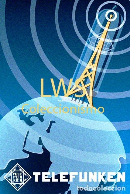 CARTELES PUBLICITARIOS SONIDO - PUBLICIDAD IMÁGENES - GRAMÓFONOS - RADIOS - TOCADISCOS TRANSISTORES (Radios, Gramófonos, Grabadoras y Otros - Catálogos, Publicidad y Libros de Radio)