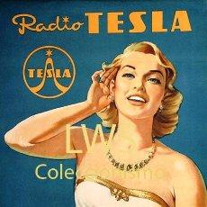 Radios antiguas: CARTELES PUBLICITARIOS SONIDO - PUBLICIDAD IMÁGENES - GRAMÓFONOS - RADIOS - TOCADISCOS TRANSISTORES. Lote 261274610