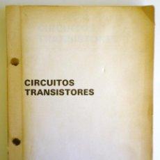 Radios antiguas: CONJUNTO DE ESQUEMAS, CIRCUITOS TRANSISTORES, APARATOS RADIO, PARA TALLERES DE REPARACIÓN. Lote 185917962