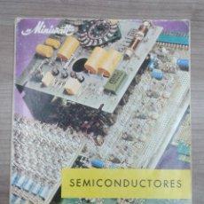 Radios antiguas: LIBRO, ELECTRONICA, SEMICONDUCTORES, MINIWATT, ELECTRONICA VIRGILI. Lote 186260885