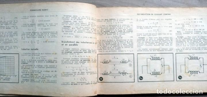 Radios antiguas: libro, electronica, formulalrio, formulaire radio, paris, esta en frances - Foto 5 - 241482255
