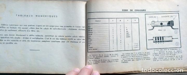 Radios antiguas: libro, electronica, formulalrio, formulaire radio, paris, esta en frances - Foto 7 - 241482255